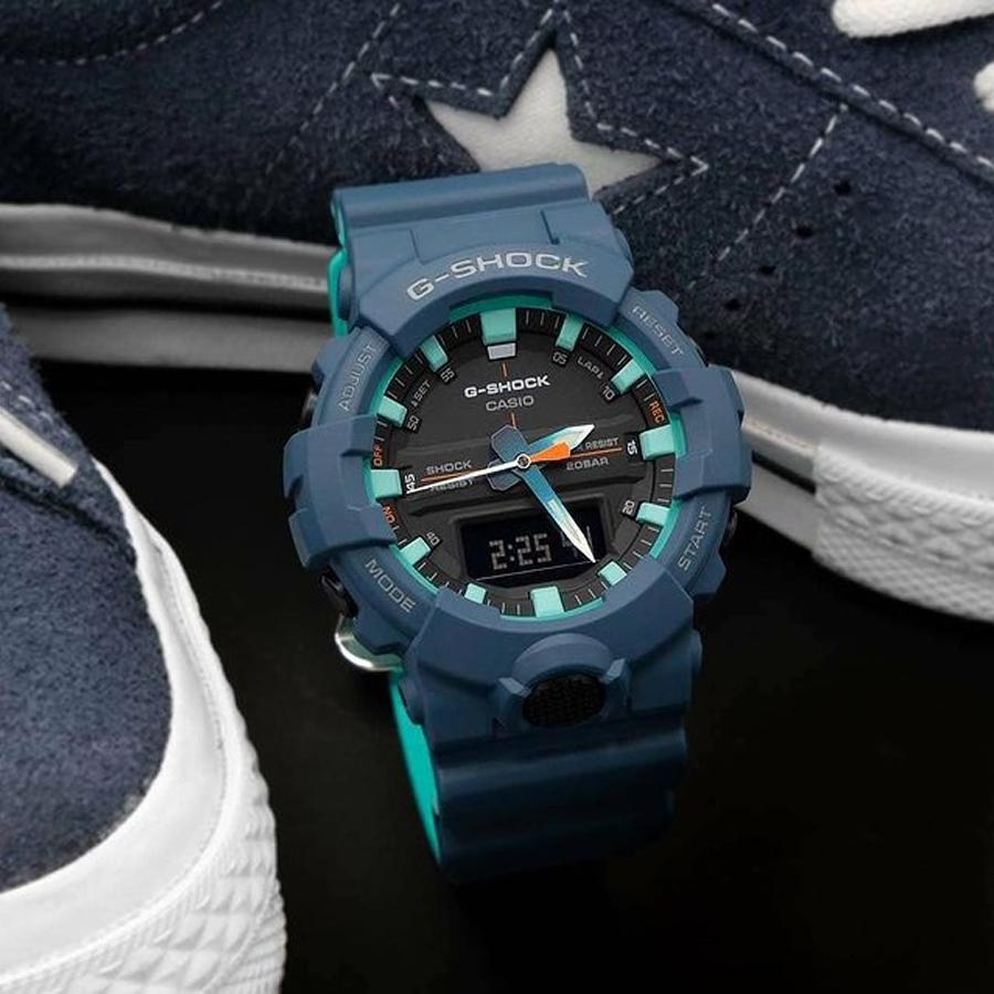 Đồng hồ nam dây nhựa Casio G-Shock chính hãng GA-800CC-2ADR (48mm)