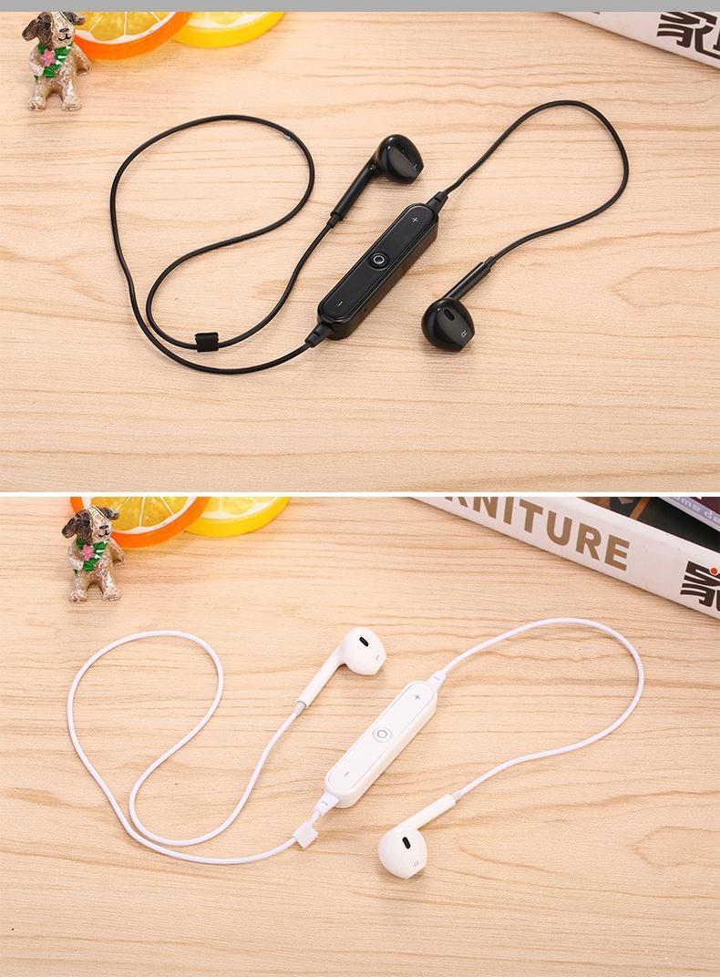 Tai nghe không dây, Tai nghe Bluetooth Sport S6 có mic đàm thoại giá rẻ - FLASH SALE - RẺ VÔ ĐỐI