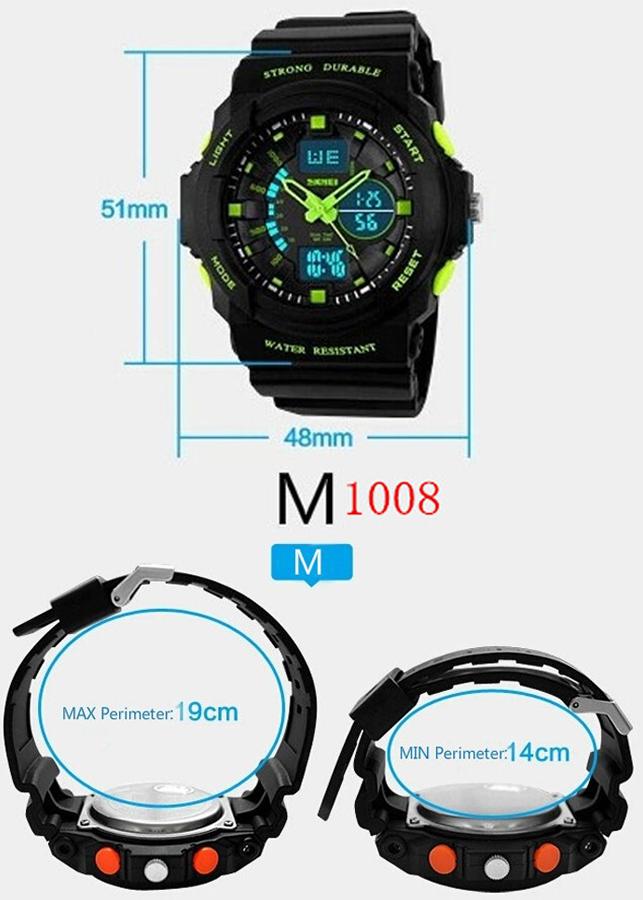 Đồng hồ Nam thể thao SKMEI 1008 - DHA454