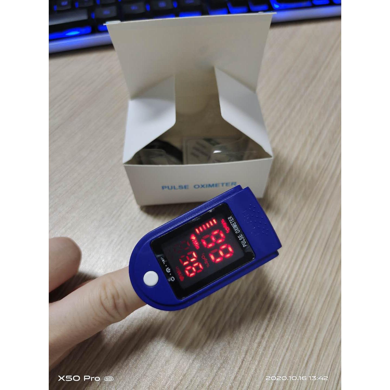 Máy đo nồng độ oxy trong máu và đo nhịp tim (SPO2), đo trên ngón tay