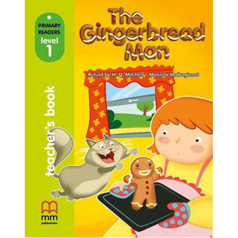 MM PUBLICATIONS: The Gingerbread Man Teacher's book