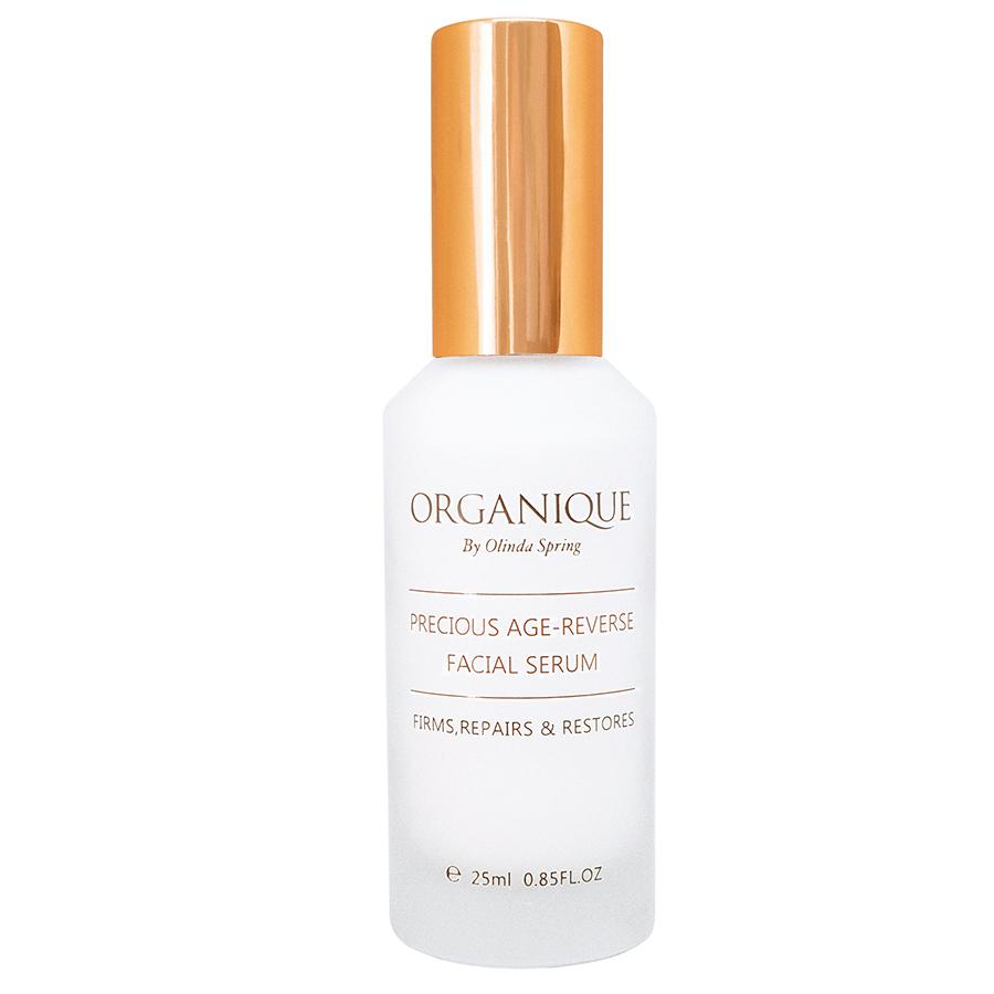 Tinh Chất Chống Lão Hóa Organique Precious Age-Reverse Facial Serum (25ml) - Tặng Kèm Mút Rửa Mặt