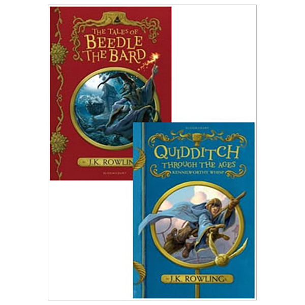 Combo The Tales Of Beedle The Bard - Quidditch Through The Ages (Hardback)