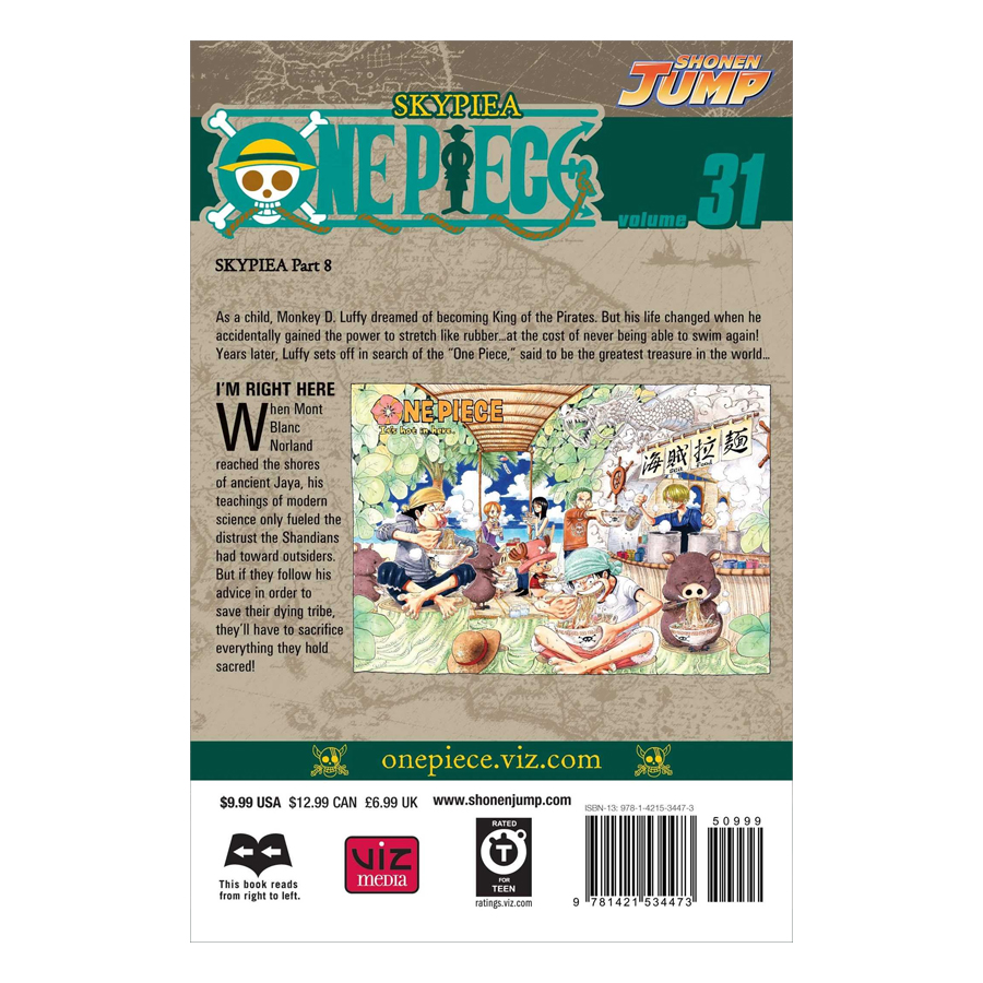One Piece 31 - Tiếng Anh
