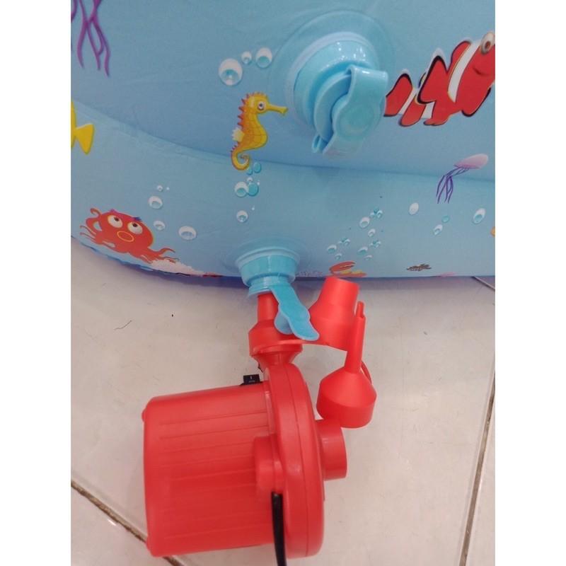 bơm điện phao bơi hai chiều thổi hút đa năng