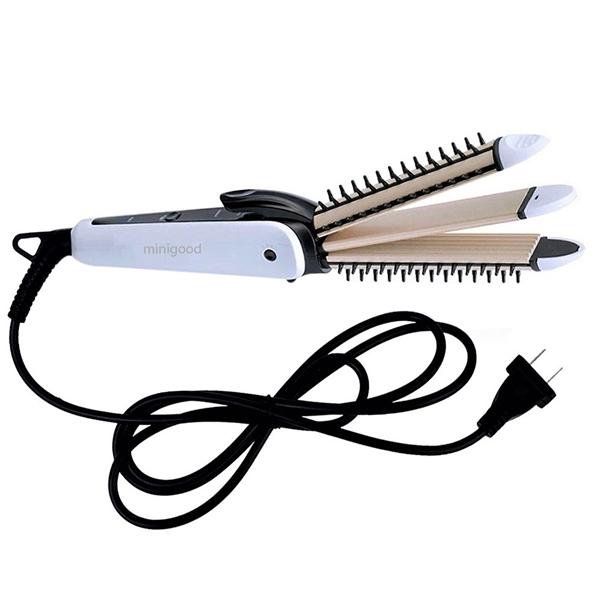 Máy uốn tóc mini 3 trong 1 phủ Ceramic chống khô tóc phong cách Hàn Quốc - EVANS143