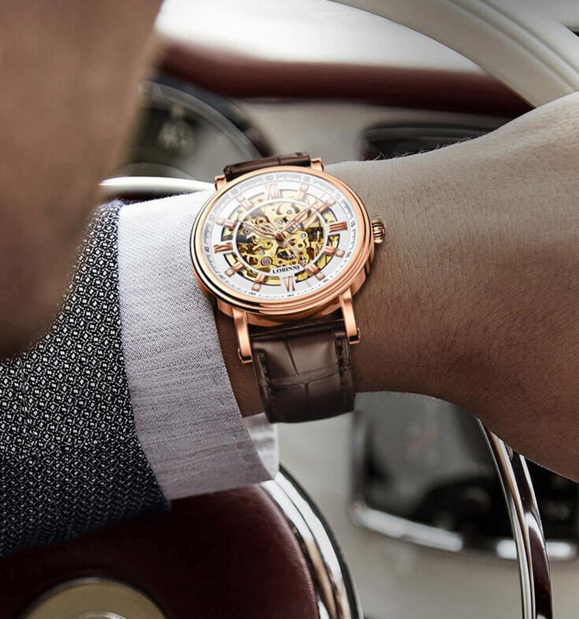 Đồng hồ nam chính hãng LOBINNI L9010-2