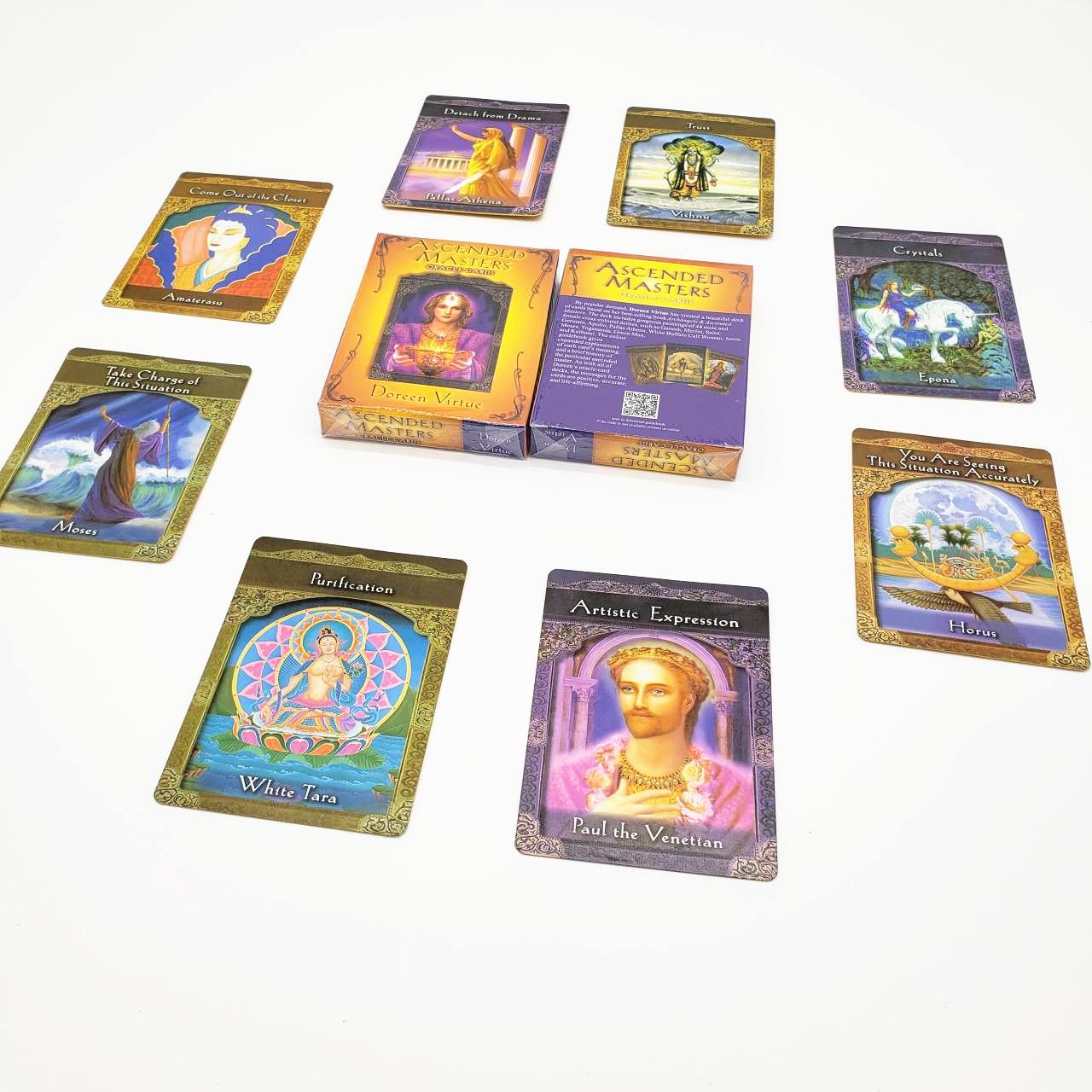 Bộ Bài Bói Tarot Bói Ascended Masters Oracle New Chất Lượng Cao