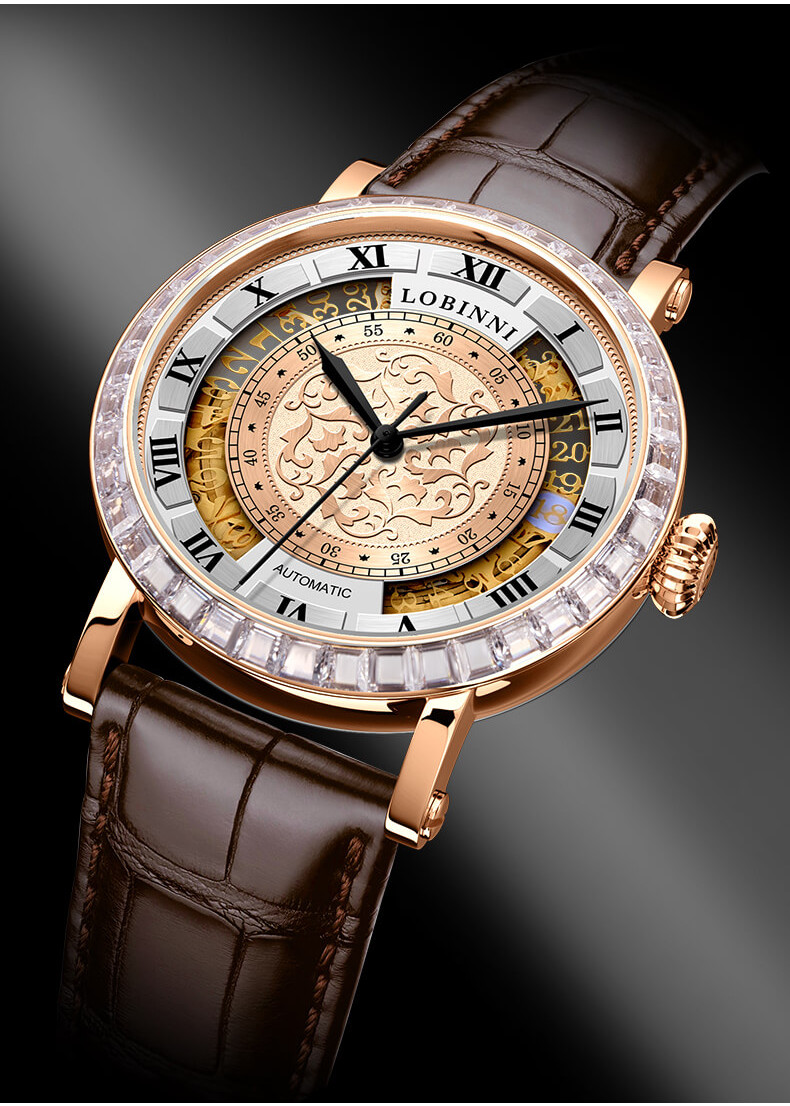 Đồng hồ nam chính hãng Lobinni No.1830-2