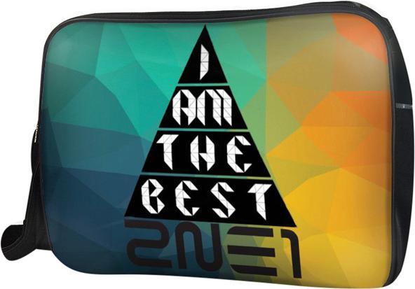 Túi Đeo Chéo Hộp Unisex I Am The Best 2Ne1 - TCKL003 34 x 9 x 25 cm