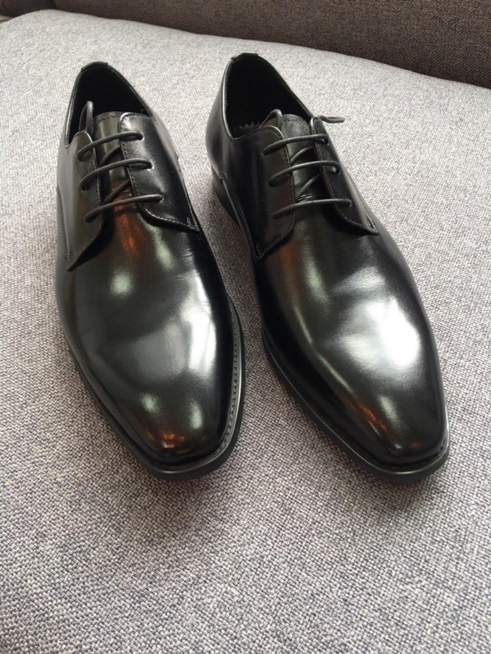 Giày nam da trơn cao cấp