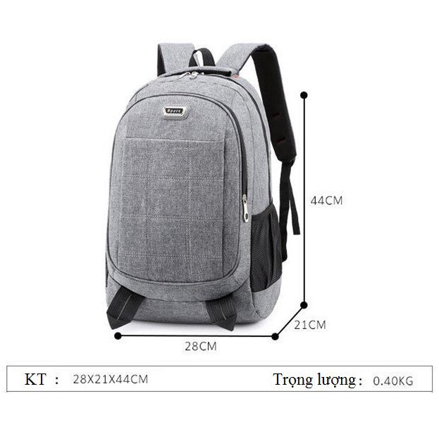 Ba lô laptop thiết kế nhiều ngăn tiện lợi TOPEE phù hợp đi chơi, đi học, đi làm, đi phượt TLO05
