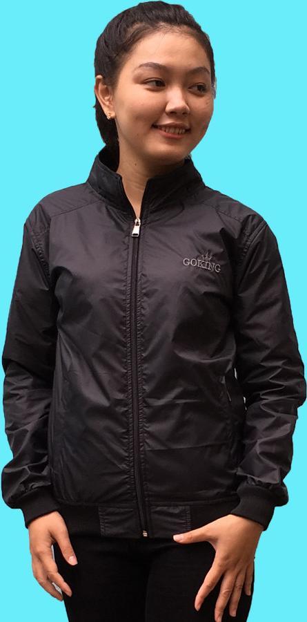 Áo khoác dù nữ GOKING 2 lớp, trong lót vải cách nhiệt chống nóng và giữ ấm cơ thể