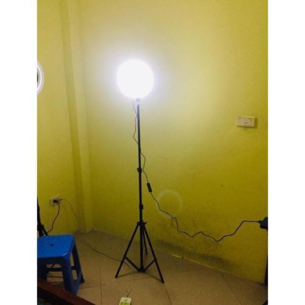 Đèn LiveStream 20cm .Hỗ trợ ánh sáng Chụp Ảnh, Make Up Trang Điểm. 3 Chế Độ Sáng