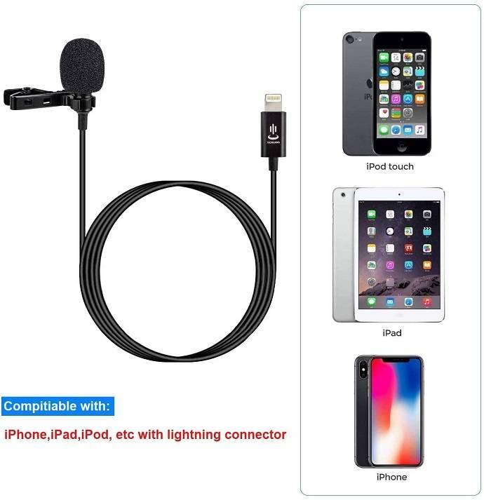 Mic thu âm cho điện thoại iPhone YC-LM22 II. Hàng chính hãng.