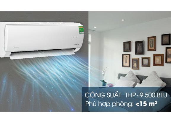 Máy lạnh Midea Inverter MSAFC-10CRDN8 (1.0Hp) (Ảnh 1)