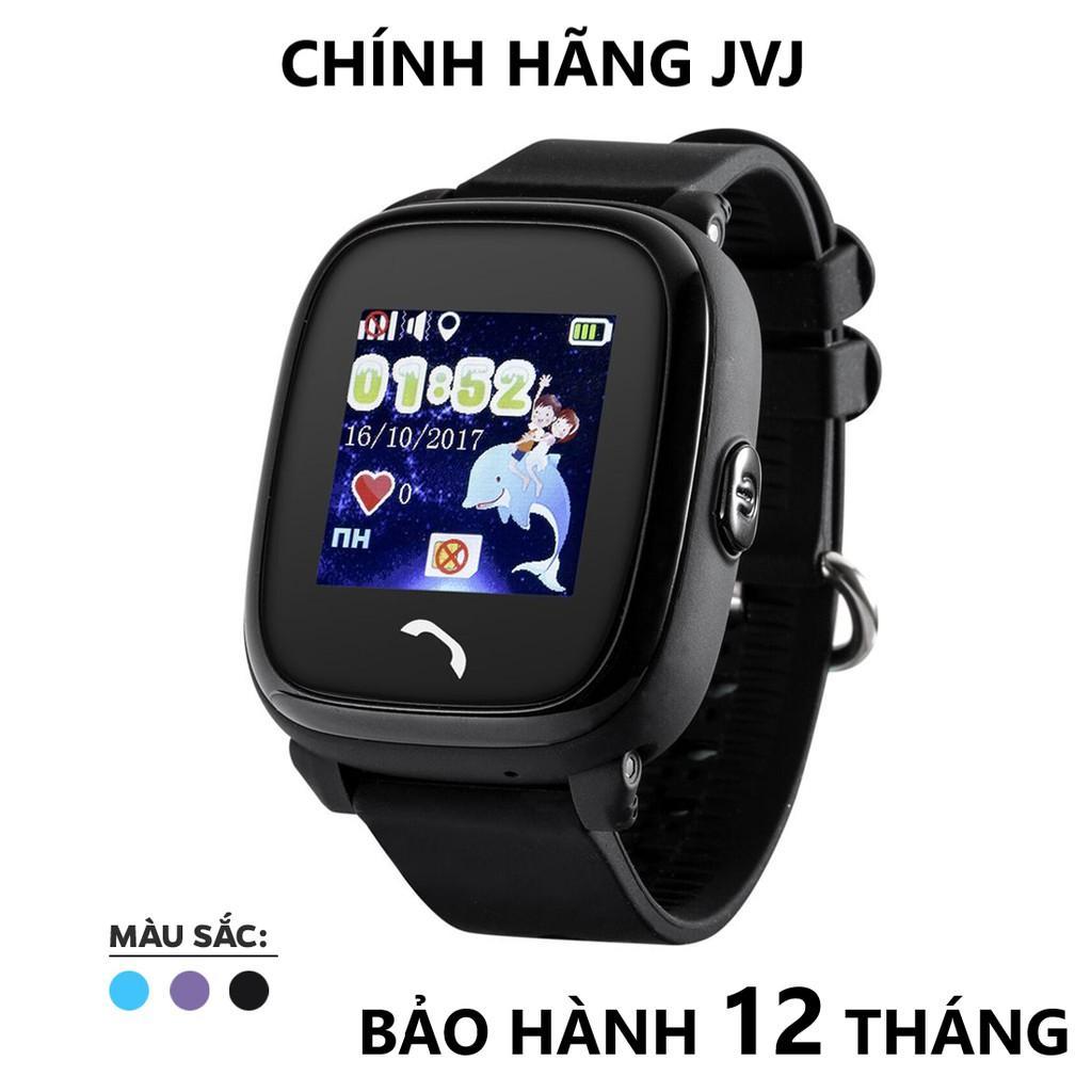 Đồng hồ định vị trẻ em DF25 JVJ - Hỗ trợ tiếng Việt lắp sim nghe gọi hai chiều -Hàng chính hãng