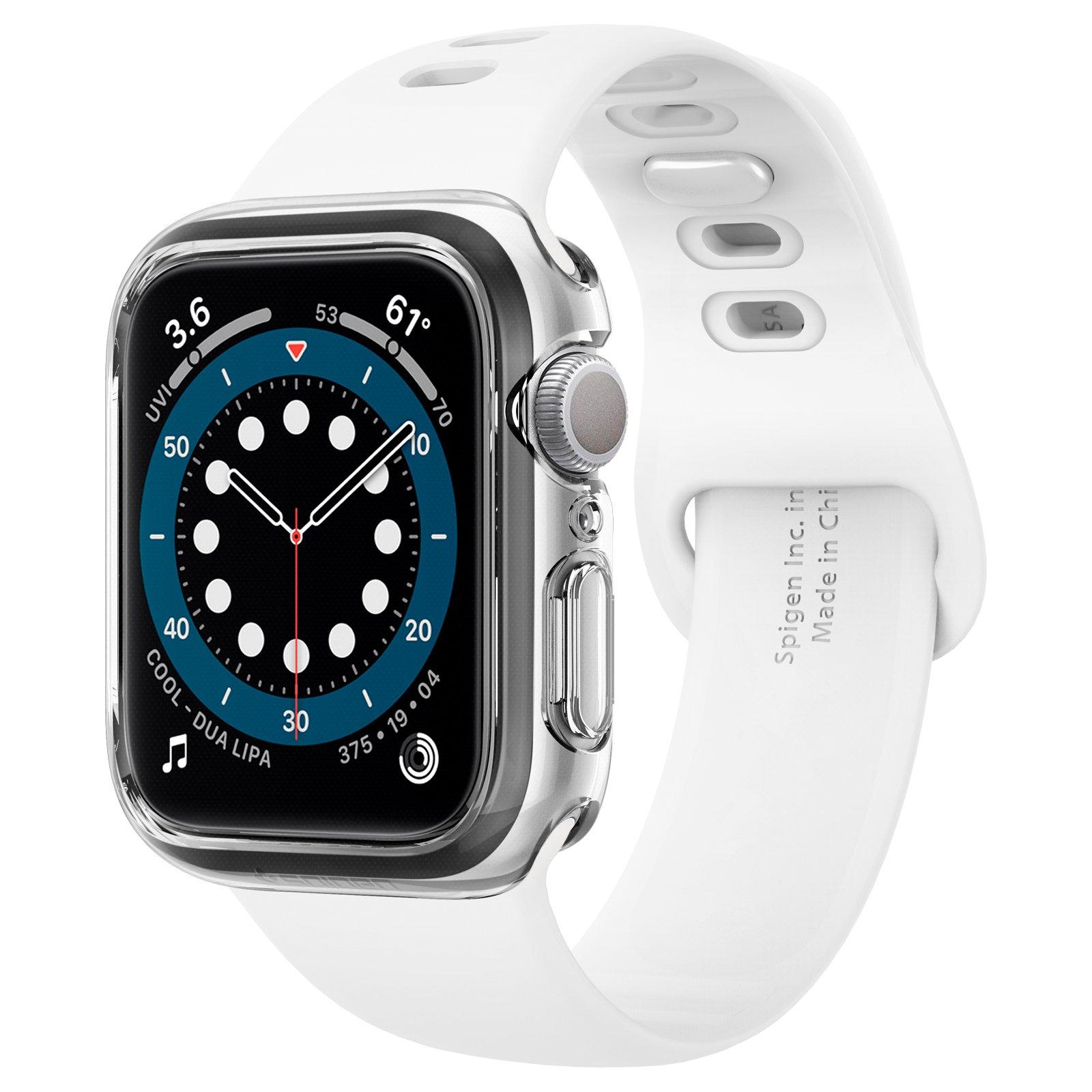 Ốp Spigen Dành cho Apple Watch Series SE / 6 / 5 / 4 (44/42mm) (Case Ultra Hybrid) - Hàng Chính hãng
