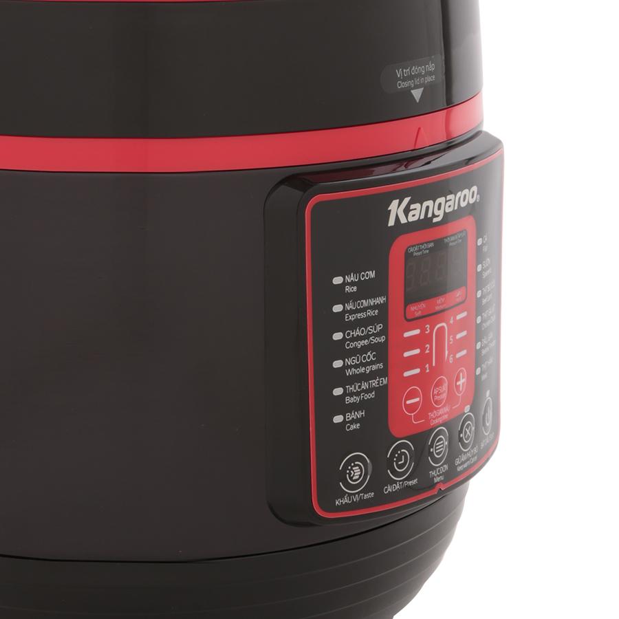 Nồi Áp Suất Điện Tử Đa Năng Kangaroo KG5P2 - Hàng chính hãng