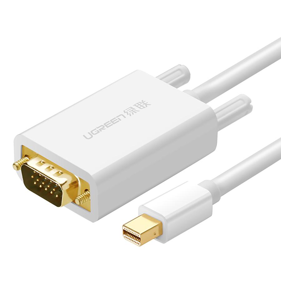 Cáp Chuyển Đổi Mini Displayport To VGA Ugreen 10406 (2m) – Hàng Chính Hãng