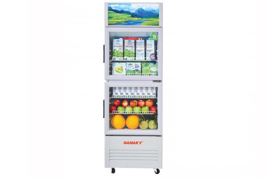 Tủ mát Sanaky 340 lít VH-408WL  - Hàng chính hãng - Giao tại Hà Nội và 1 số tỉnh toàn quốc
