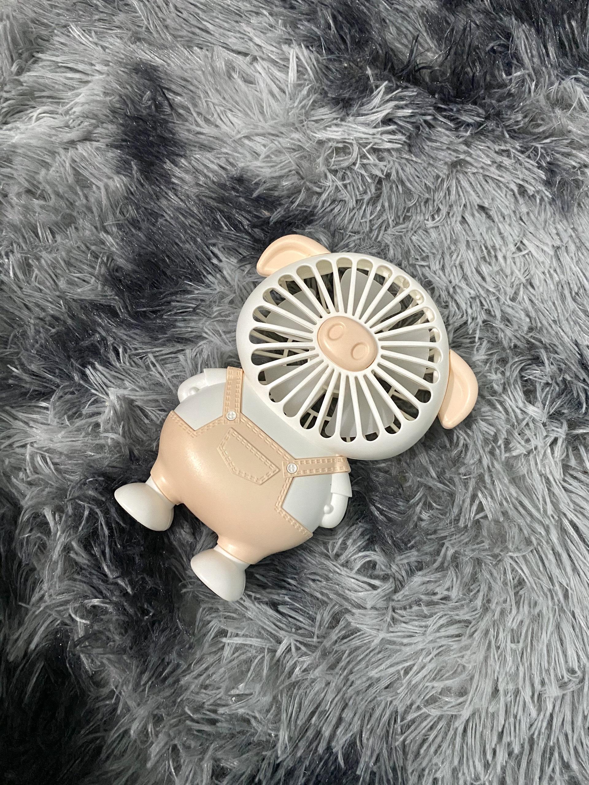 Quạt Mini - Quạt Lợn - Quạt Heo Tích Điện (Ngộ Nghĩnh)- Giao ngẫu nhiên