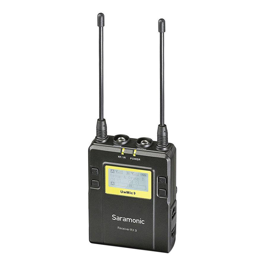 Micro Thu Âm Saramonic UwMic9 (RX9+HU9) - Hàng Chính Hãng