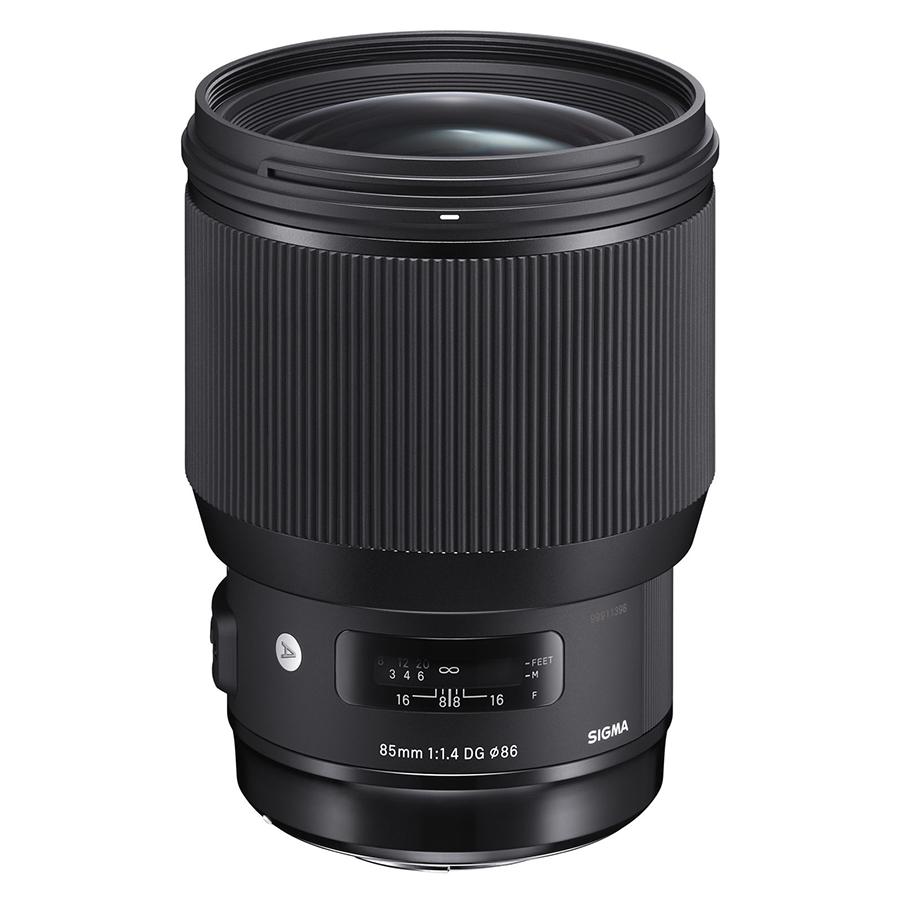 Ống kính Sigma 85 F1.4 DG HSM Art For Canon - Hàng chính hãng