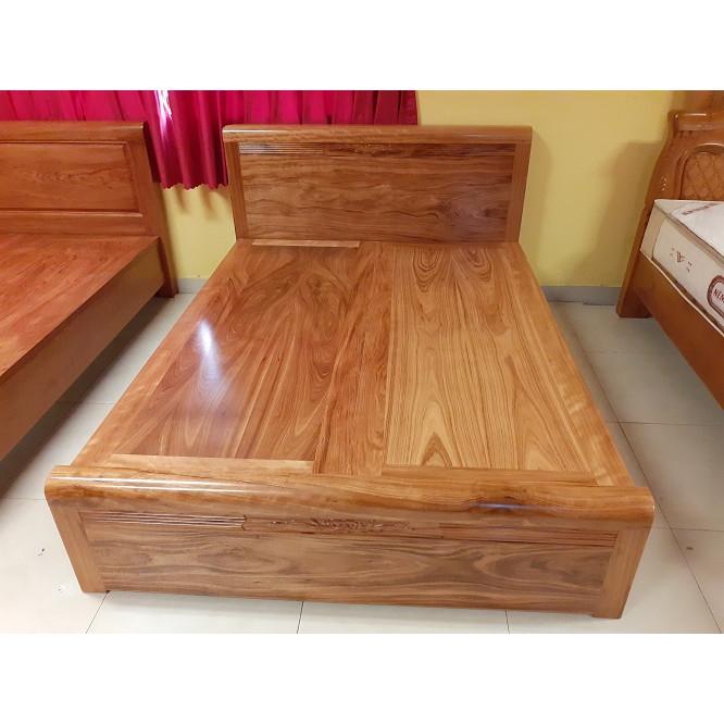 Giường ngủ hương xám 1m6