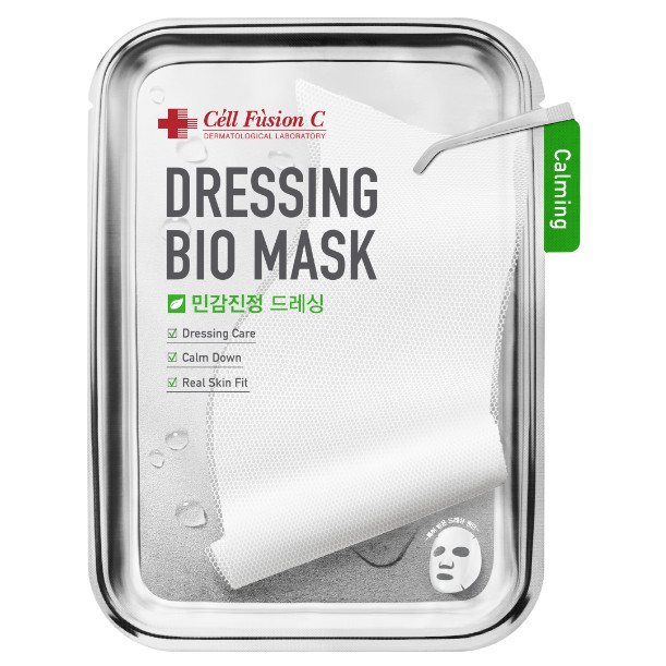 Mặt Nạ Sinh Học Dịu Da Cell Fusion C Dressing Bio Mask_Calming  27g x 5miếng