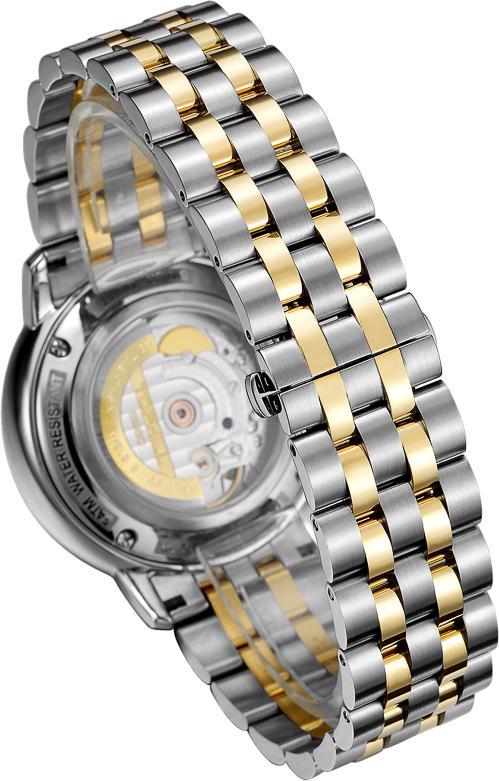 Đồng hồ nam mạ vàng 18K cao cấp Thụy Sĩ TOPHILL TU008G.S6188