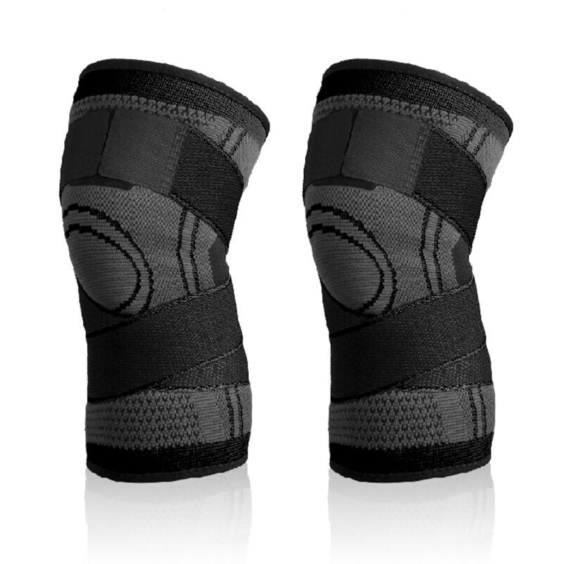 Đai Bảo Vệ Đầu Gối Chuyên Nghiệp Thoáng Khí Có Dây Đai Cuốn Chắc Chắn Breathable Sport knee support AOLIKES YE-7720 - Hàng Chính Hãng