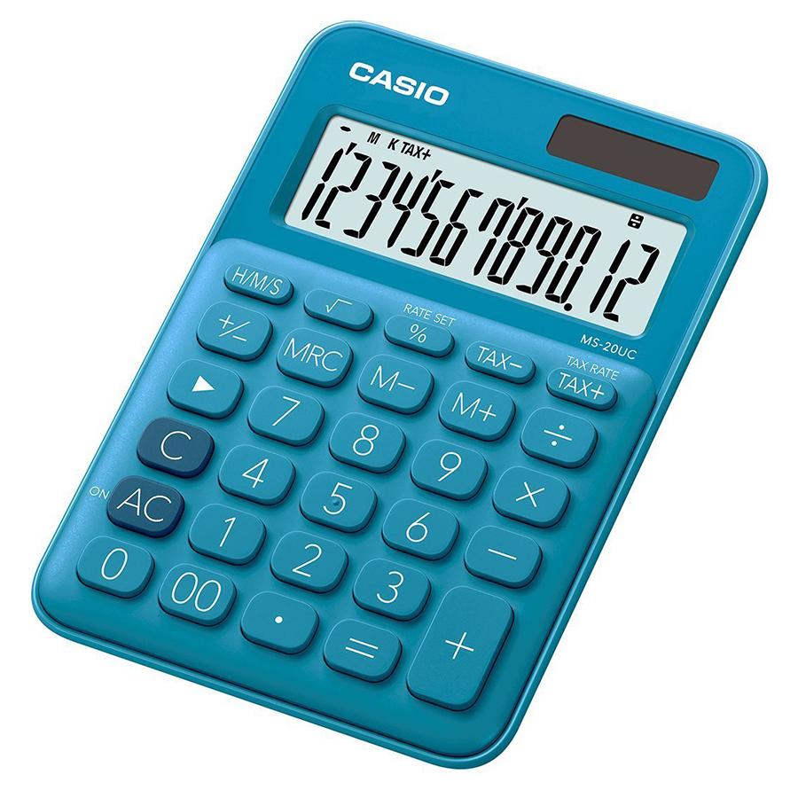 Máy Tính Để Bàn Casio Sắc Màu MS-20UC - 7850570182612,62_1566957,267000,tiki.vn,May-Tinh-De-Ban-Casio-Sac-Mau-MS-20UC-62_1566957,Máy Tính Để Bàn Casio Sắc Màu MS-20UC