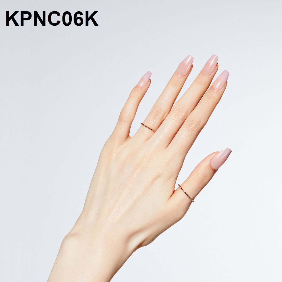 Bộ 30 Móng Tay Gel Dán Press & Go Kiss New York Nail Box - Milk Tea (KPNC06K)