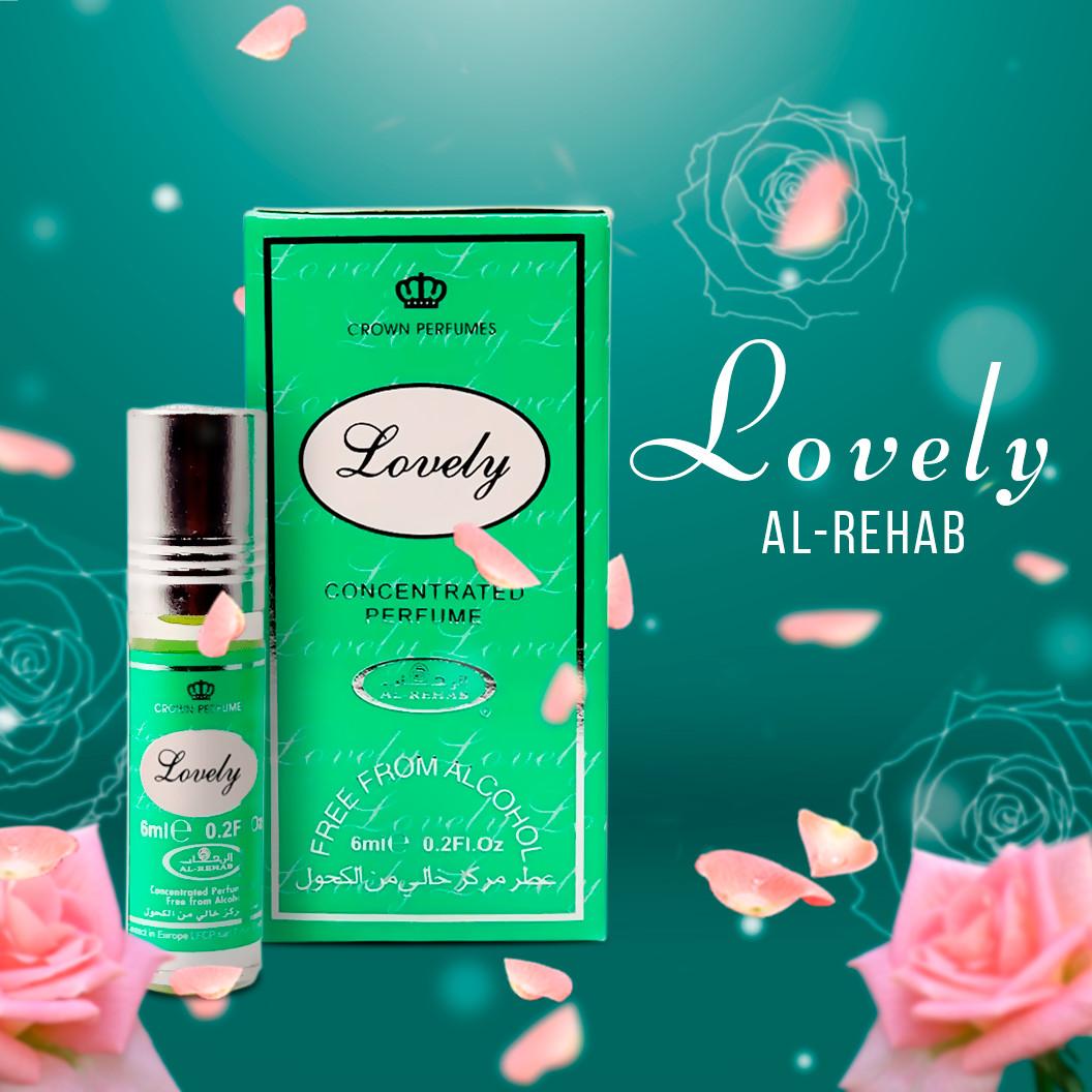 Tinh dầu nước hoa  NỮ_Lovely Al-Rehab (hàng chính hãng )