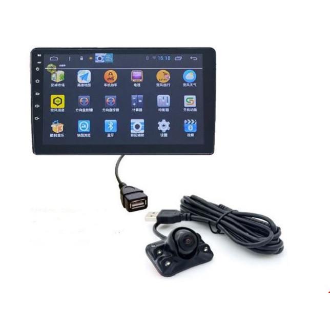 Camera cặp lề cho màn android chân USB 4 đèn led full HD