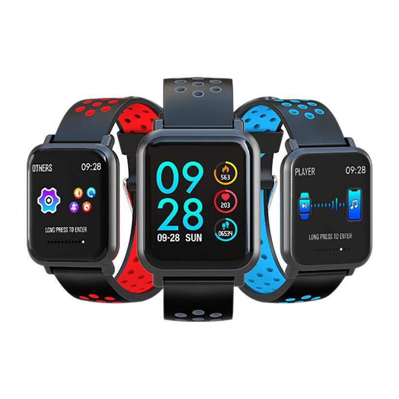 Đồng hồ thông minh smartwatch SN60-Plus (Xanh Dương) - Hỗ trợ Đo nhịp tim, đohuyết áp, nồng độ oxy trong máu - Hàng chính hãng