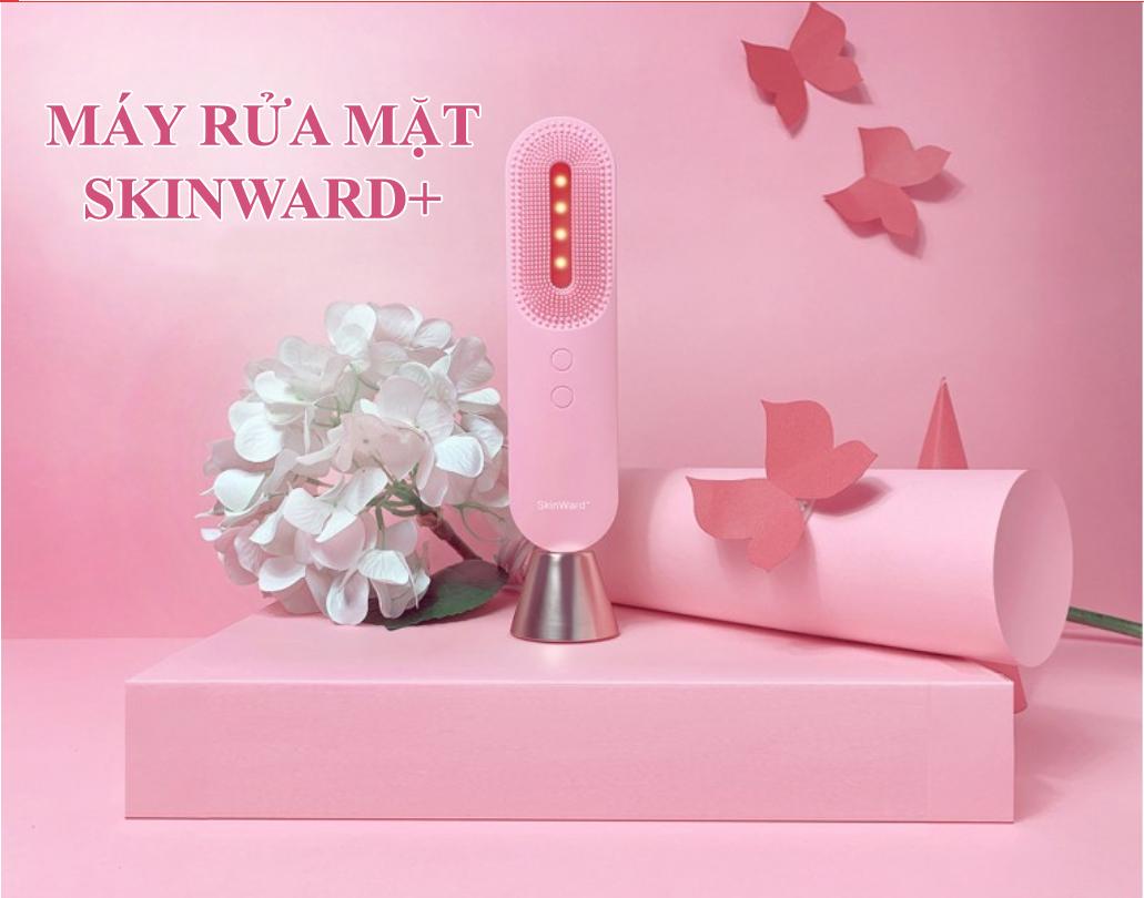 Máy Rửa Mặt Với Công Nghệ Rung T-Sonic Skinward+ - Chuyên Biệt Cho Từng Loại Da - Hàng Chính Hãng.