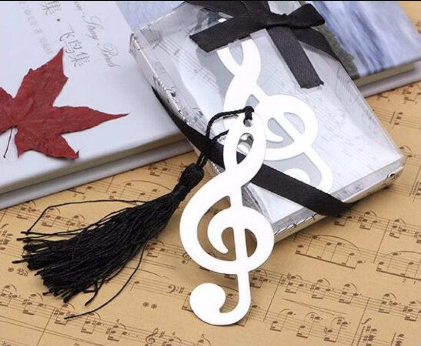 Bookmark Kim Loại Đánh Dấu Sách - Nốt Nhạc
