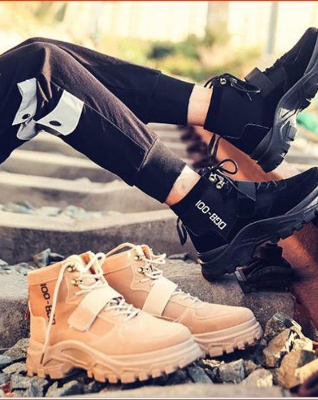 [GIÀY CAO CỔ NAM] Giày da lộn nam, Giày nam đế cao, Giày đi phượt, Giày phượt nam, Giày nam đẹp, Giày nam đẹp 2019, Giày nam cao cấp, Giày nam thời trang, Giày cao cổ nam hàn quốc, Giày cao cổ nam đẹp, Giày cao cổ da lộn
