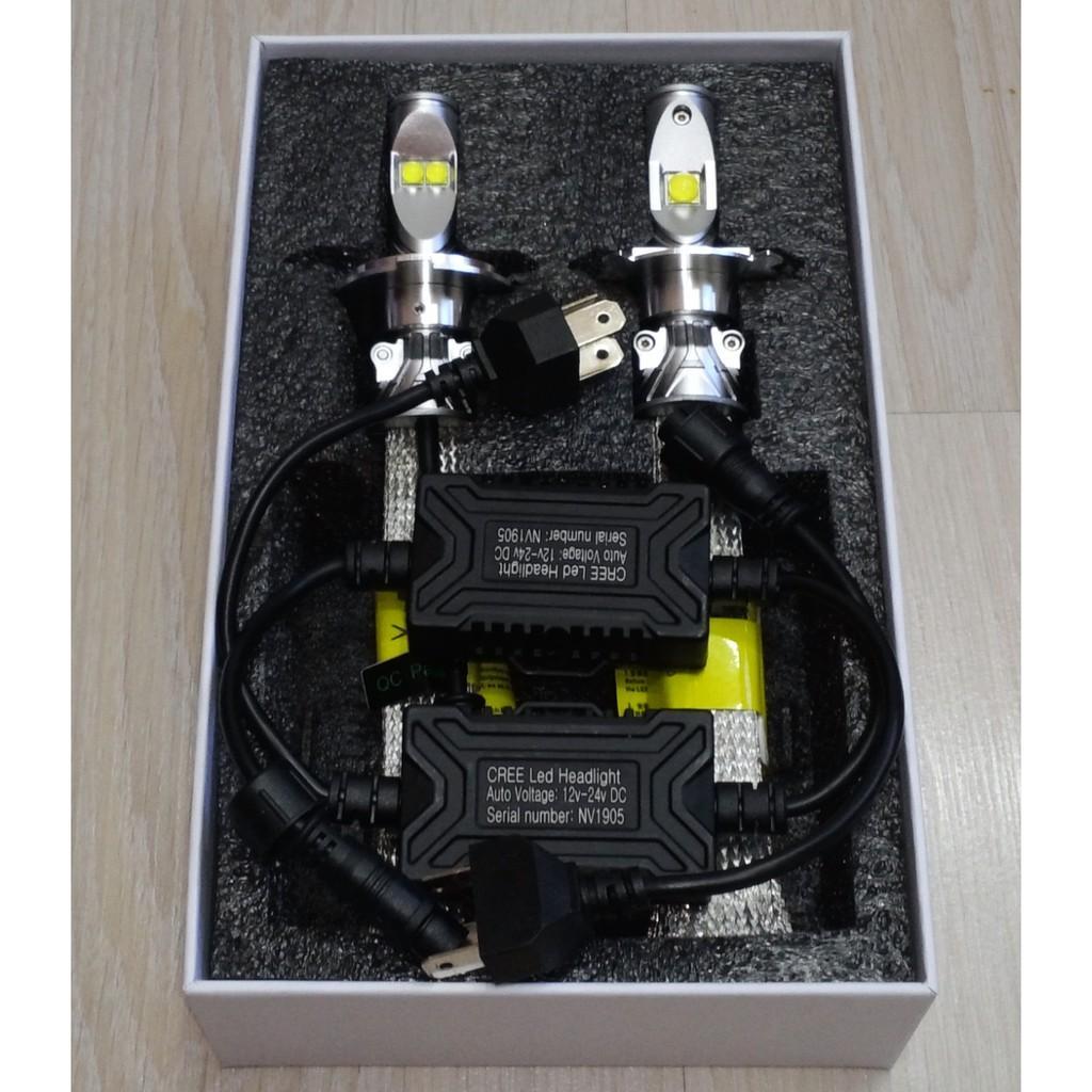 Model 2020 - Cặp bóng đèn Led Cree XHP70 V70 - Chân HS1 , H4 , M5 , HS5