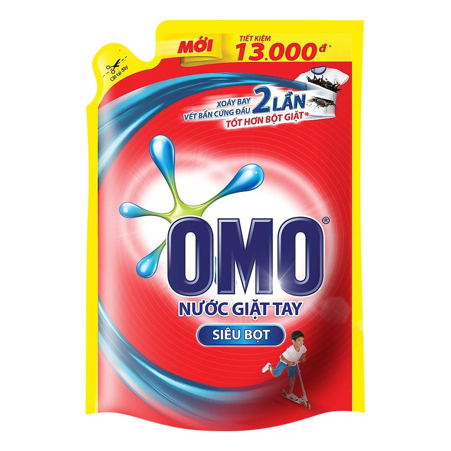 Nước Giặt OMO Đỏ - Giặt Tay 21163240 (1.8kg)