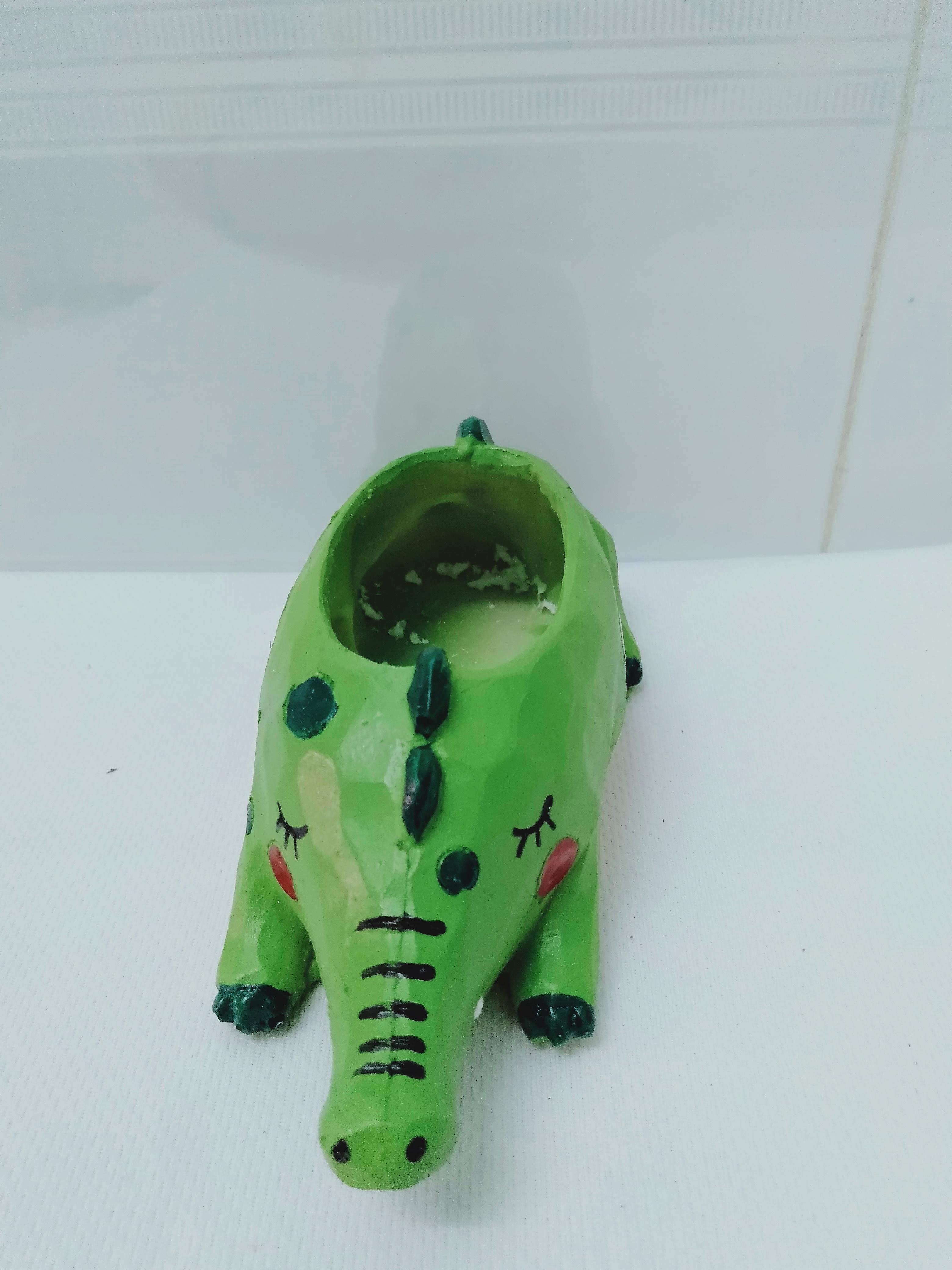 Chậu nhựa trồng cây mini sen đá, xương rồng hình những con vật đáng yêu (Nhựa Composite nhẹ, bền)