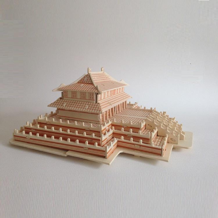 Đồ chơi lắp ráp gỗ 3D Mô hình Điện Thái Hòa