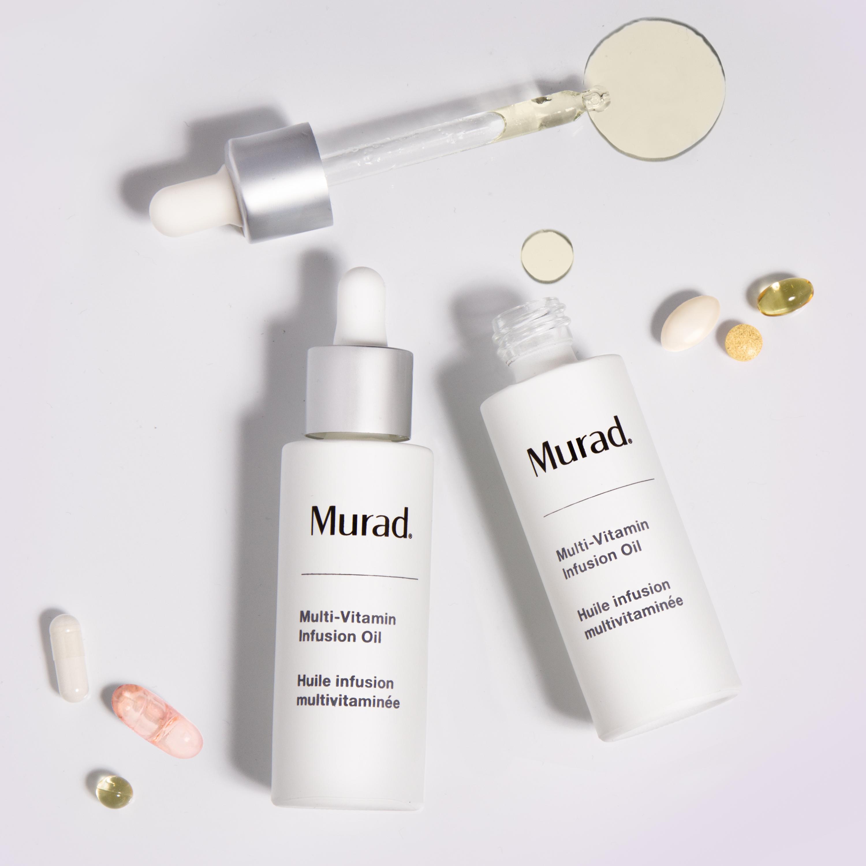 Dầu dưỡng da đa chức năng cho làn da căng mướt Murad Multi-Vitamin infusion oil (3ml)