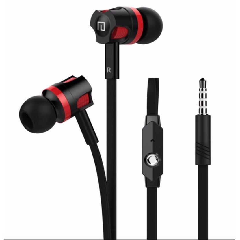 Tai nghe nhét tai earphone Langsdom JM26 Super Bass cho điện thoại android/iphone/ipad (đen) - hàng chính hãng