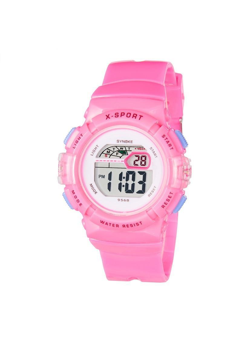 Đồng hồ trẻ em bé gái Synoke 9568