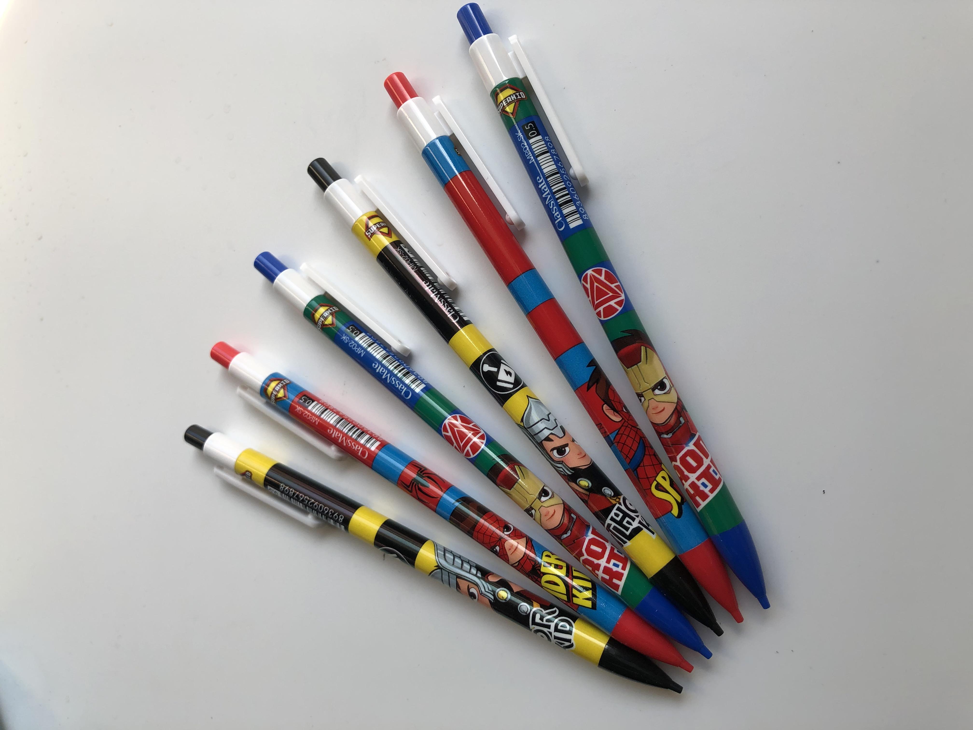COMBO 6 cây Bút chì bấm Superkid MP02-SK