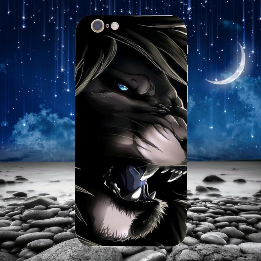 Ốp Lưng Ảnh Sư Tử,Dành Cho Máy iPhone 6 plus ,iphone 6s plus  Ốp Cứng Viền TPU Dẻo MS SU0017