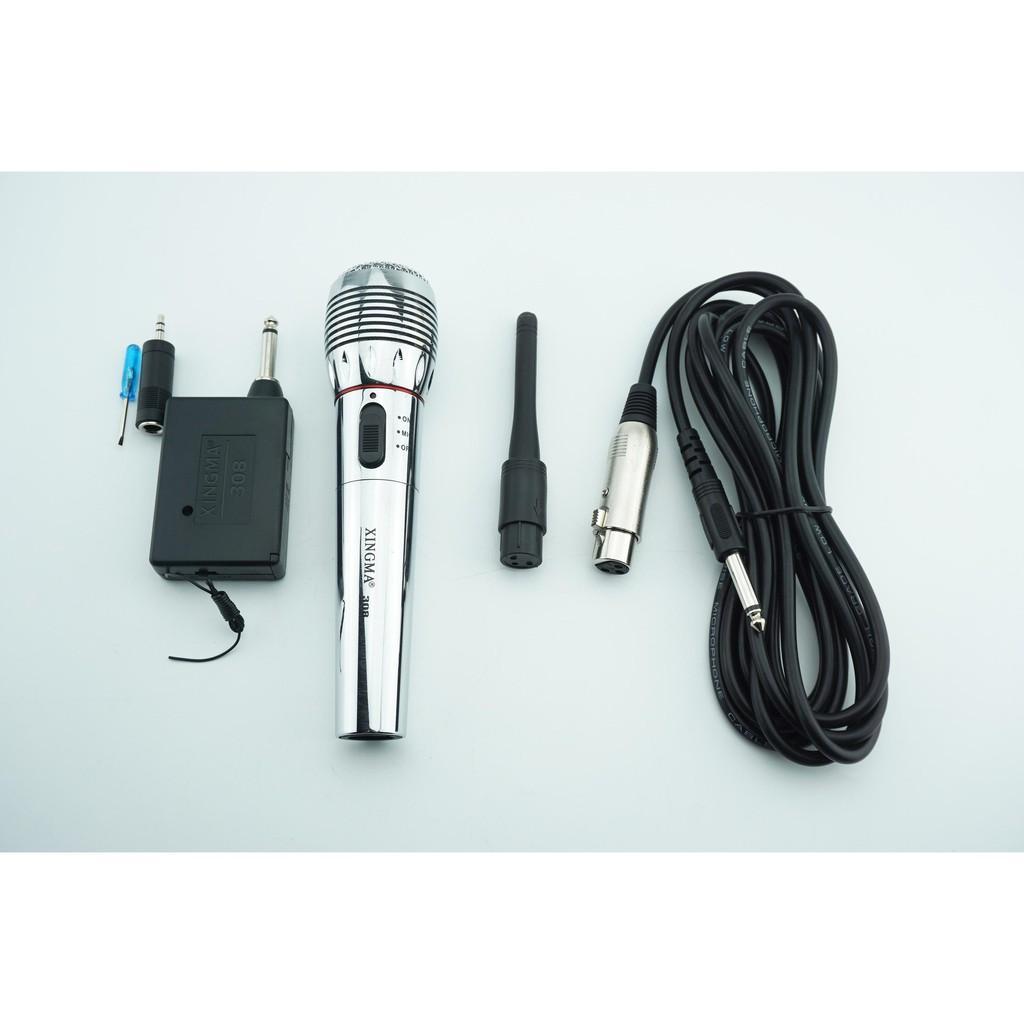 mic hát karaoke không dây,Mic không dây kết hợp có dây